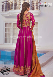 Latest Pakistani Party Wear Suit for Girls 2021 Backside Look