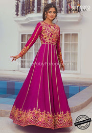 Latest Pakistani Party Wear Suit for Girls 2021 Frock Look
