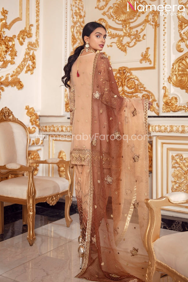 Latest Pakistani Salwar Kameez Online Boutique Backside Look