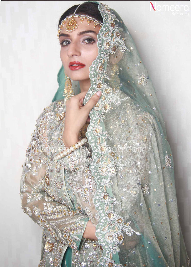 Walima Lehenga for Girls
