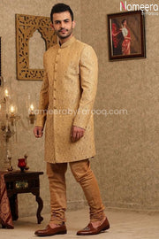 Latest Sherwani Pakistani for Wedding Online Side Look