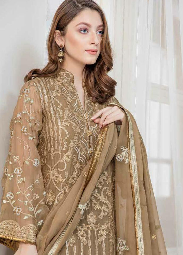 Latest Pakistani Dress Maryum N Maira | Tilla, Threads, Sequence