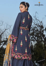 Lawn Suit Online Collection 2020 Backside View