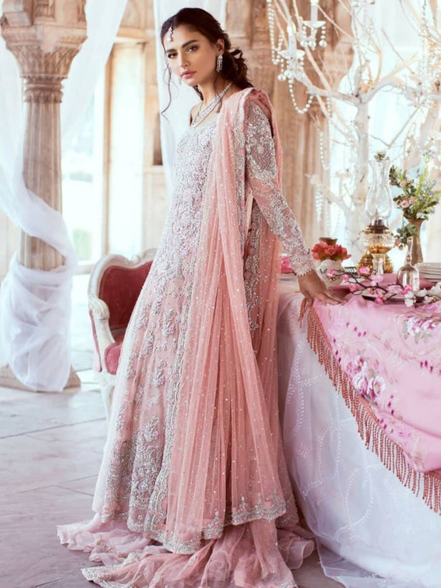 Soft Light Pink Lehenga for Reception