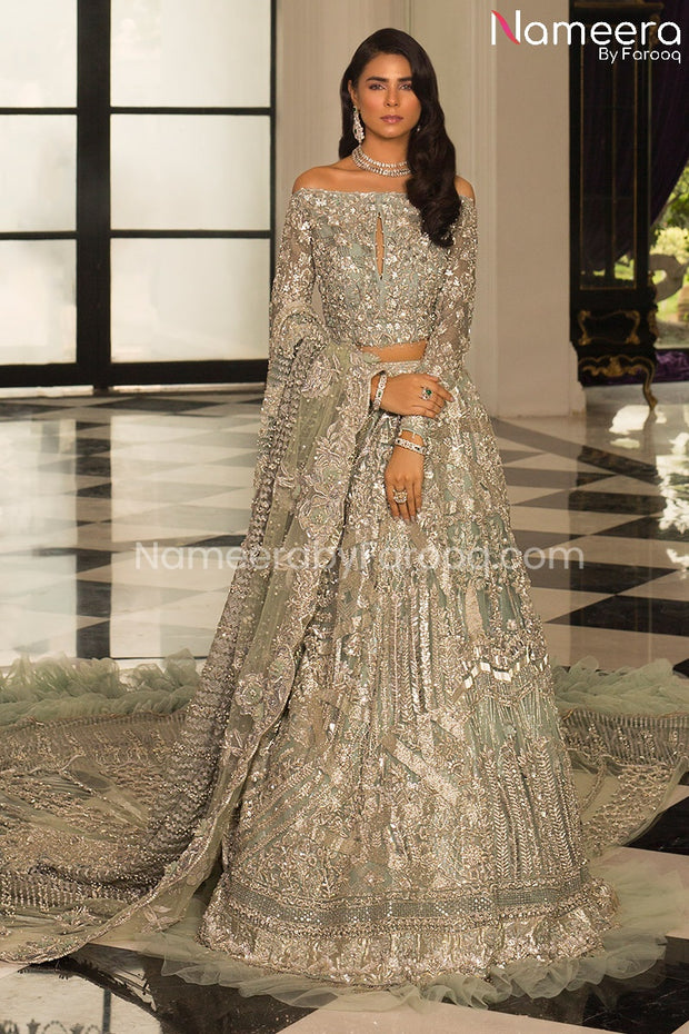 Long Tail Lehenga