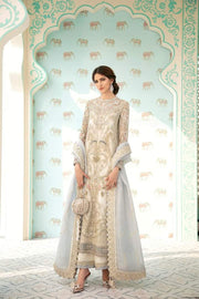 Luxury Party Wear in Ivory Color