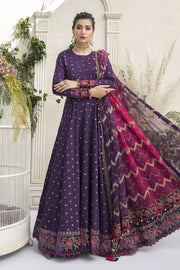 Maria B Festive Frock in Blue Color