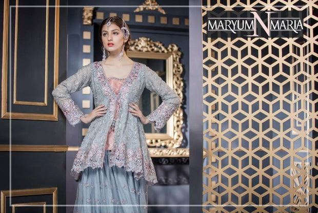 Paplam And Sharara by Maryum N Maira Model# C 1607