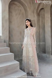 Organza Dress Design in Gown for Wedding Wear