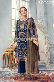 Pakistani Beautiful Wedding Party Dresses 2021 Front Look
