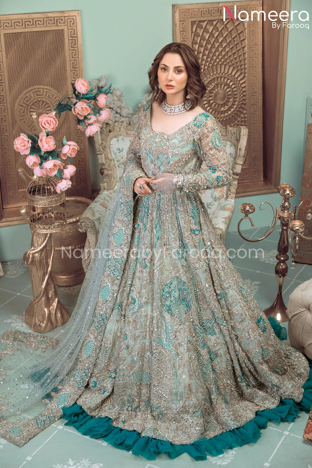 Pakistani Bridal Gown Dresses