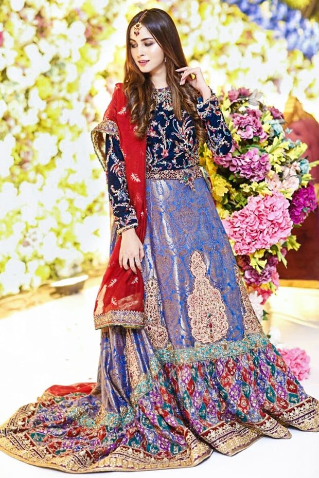 Pakistani Bridal LUxury Lehnga Choli