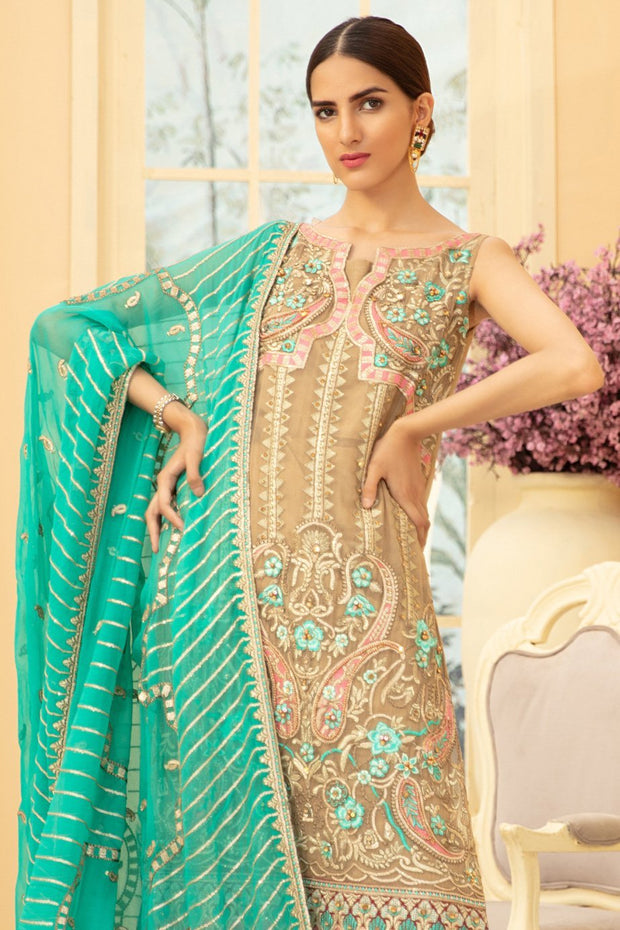 Pakistani Chiffon Latest Collection for Wedding Party