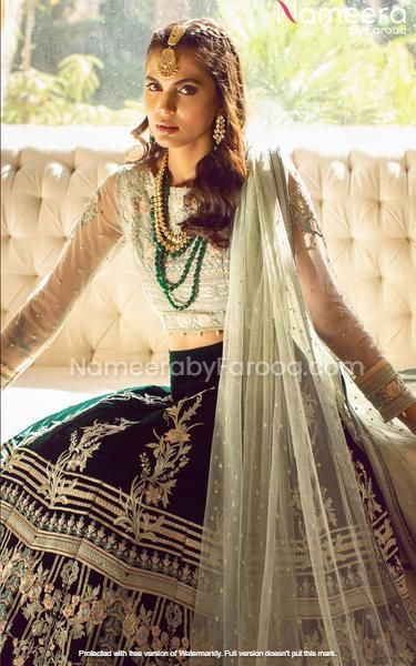 Pakistani Choli Lehenga Dress