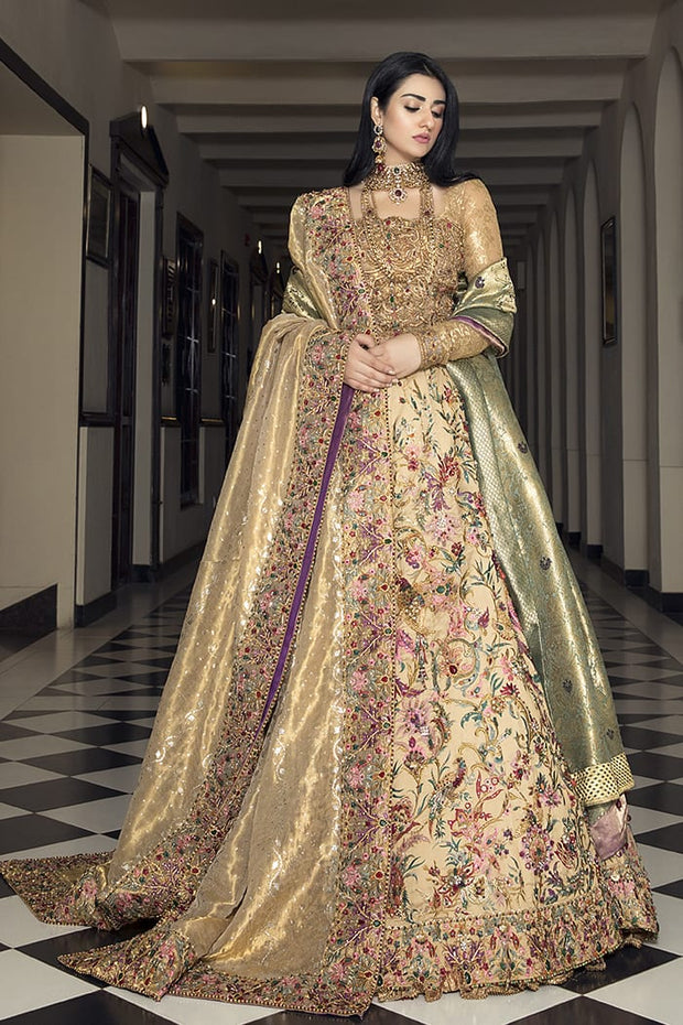 Pakistani Designer Bridal Long Maxi for Wedding