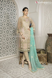 Pakistani Designer Party Wear Dress for Girls Overall Look