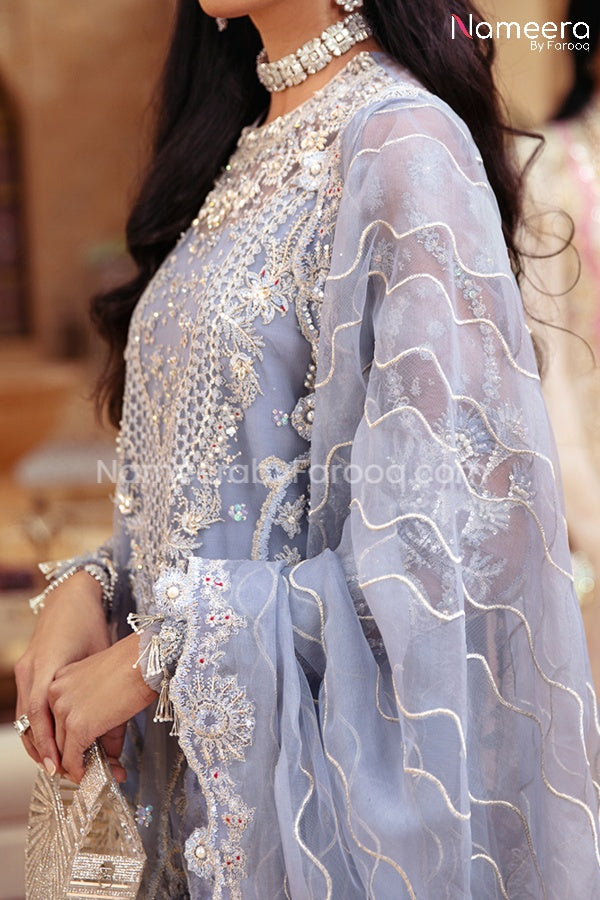Pakistani Dress Online for Wedding Party 2021 Dupatta Look
