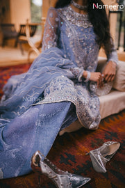 Pakistani Dress Online for Wedding Party 2021 Trouser Look