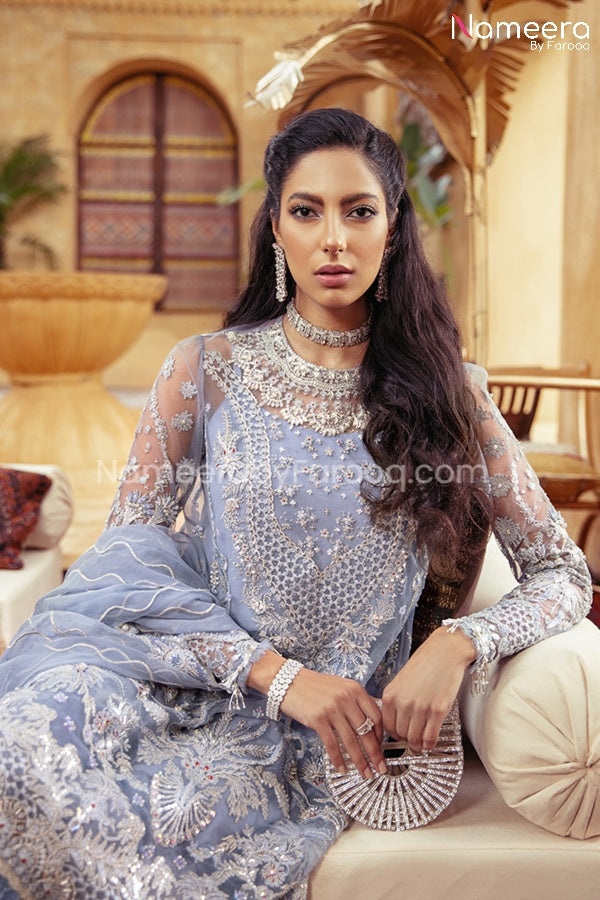Pakistani Dress Online for Wedding Party 2021 Close Look