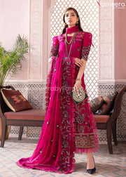 Pakistani Embroidered Party Wear Dress for Girls