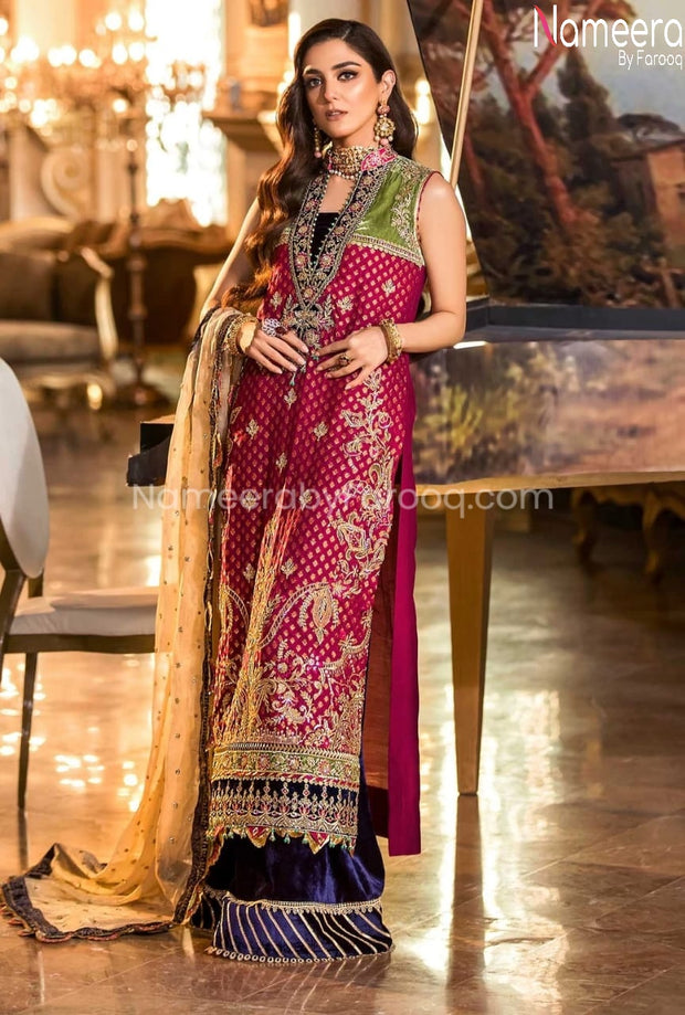 Pakistani Fancy Dress for Wedding Party 2021