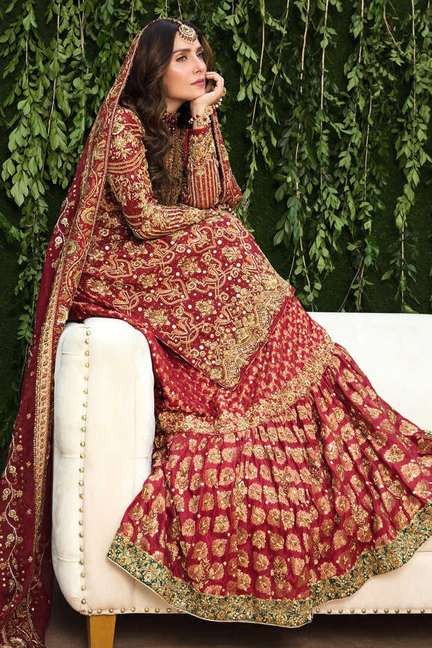Pakistani Gharara Dress for Bridal