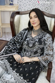 Pakistani Gharara Dress with Short Shirt Embroidery