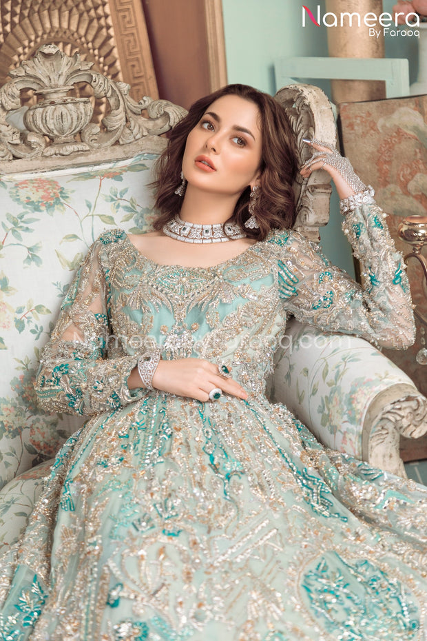 Pakistani Gown Dress Design