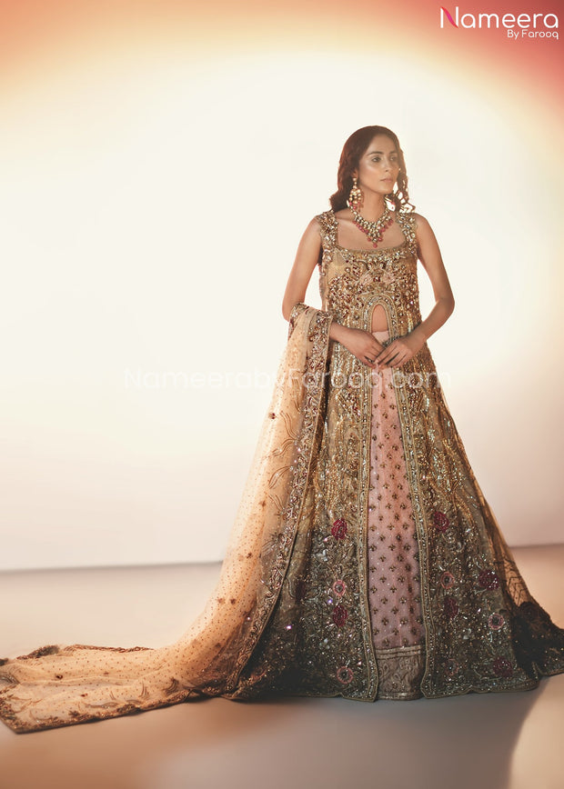 Pakistani Lehenga Designs for Girls 2021 Online #BB273