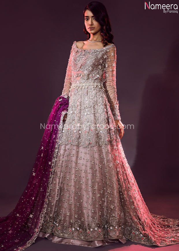 Pakistani Lehenga Dress for Wedding Online 2021 Front Look