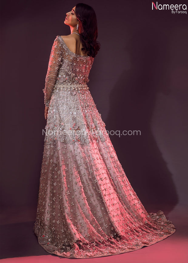 Pakistani Lehenga Dress for Wedding Online 2021  Backside View