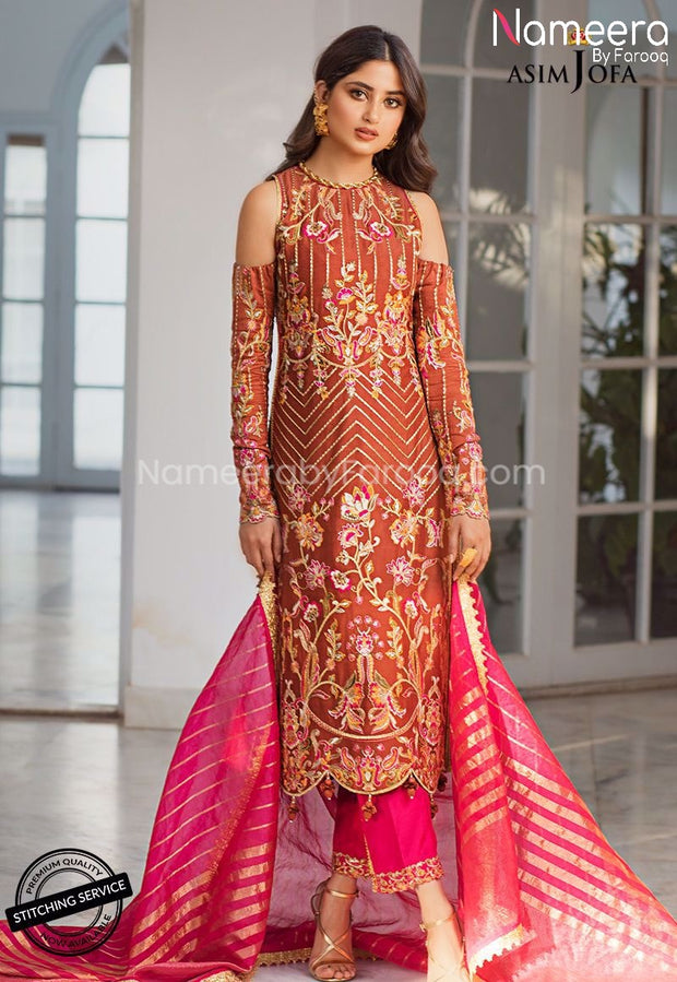 Pakistani Dress for Wedding Party Female Online