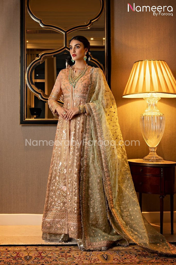 Pakistani Luxury Party Dress for Wedding Online