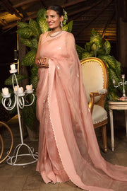Pakistani Plain Saree For Party