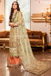 Pakistani Punjabi Party Wear Suit with Embroidery