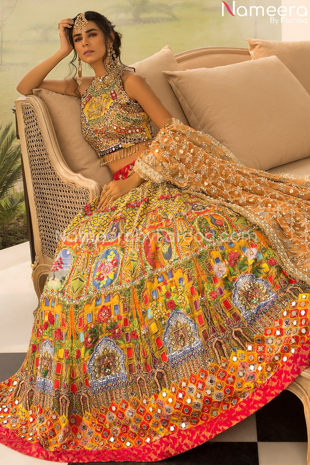 Pakistani Traditional Lehenga Choli