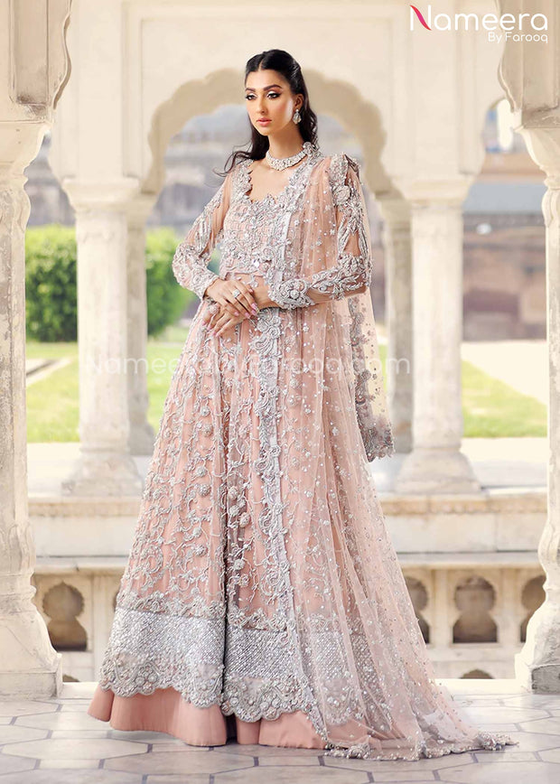 Pakistani Walima Dress Online for Bride 2021