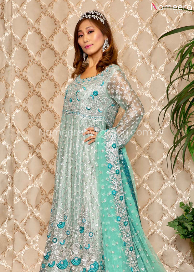 Pakistani Walima Dress for Bride