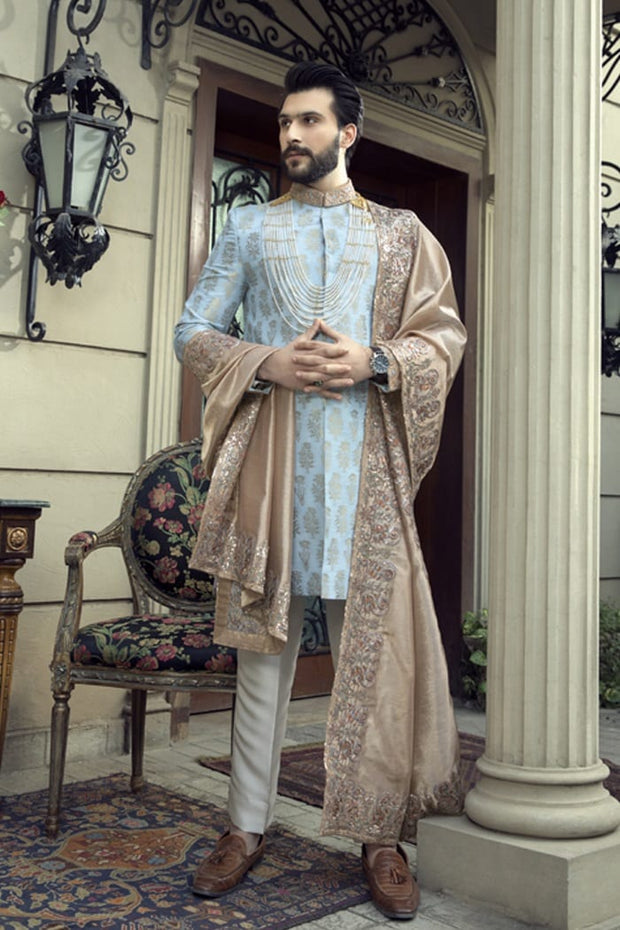 Pakistani Wedding Sherwani for Groom