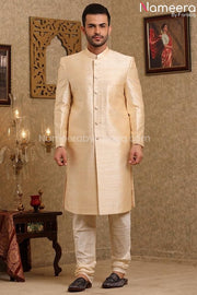 Pakistani Wedding Sherwani for Men's Online 2021 Front Look