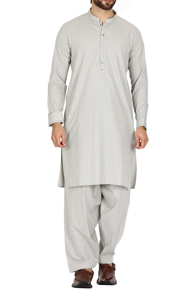 Pakistani 2919 latest grey color two piece Men wear