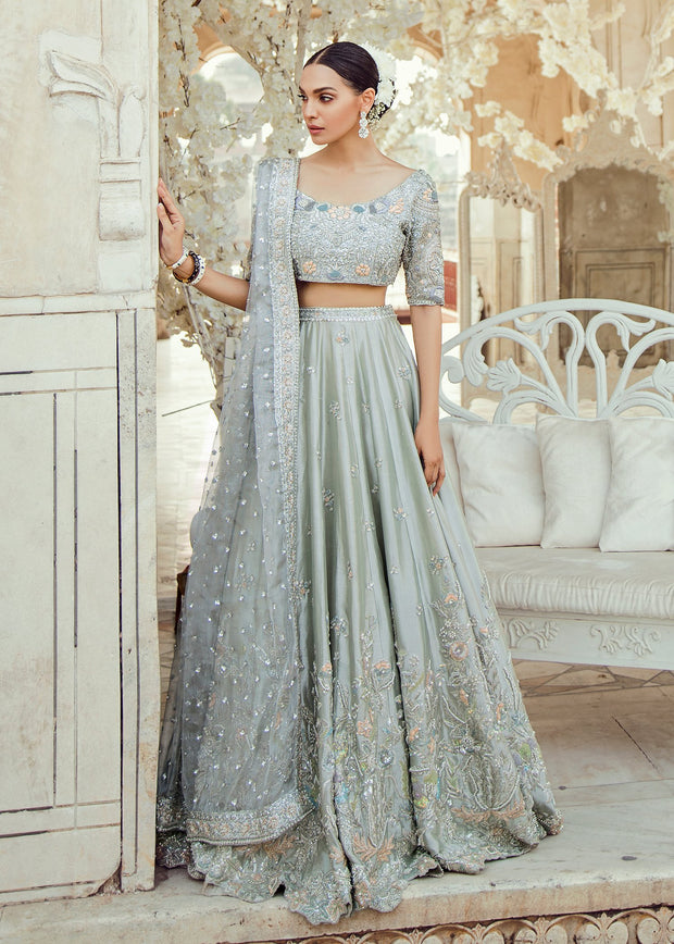 Pakistani Bridal Lehnga Choli Dress for Wedding Front Look
