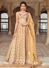 Pakistani Bridal Lehnga Choli in Light Pink Color Overall Look
