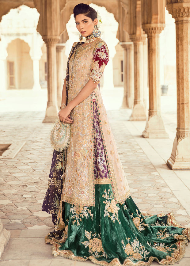 Pakistani Bridal Trail Lehnga for Wedding Overall Look