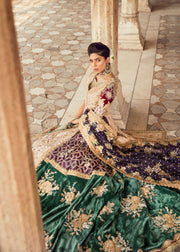 Pakistani Bridal Trail Lehnga for Wedding