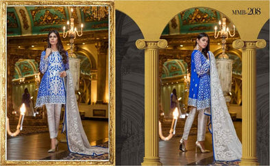 Pakistani Chiffon Dress, tilla Threads,Embroidery & Sequance