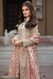 Pakistani Designer Chiffon Dress for Eid