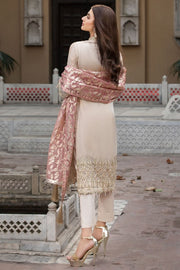 Pakistani Designer Chiffon Dress for Eid Backside
