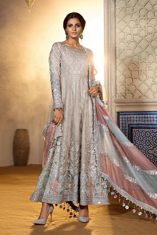Pakistani Designer Dress with Gota Embroidery