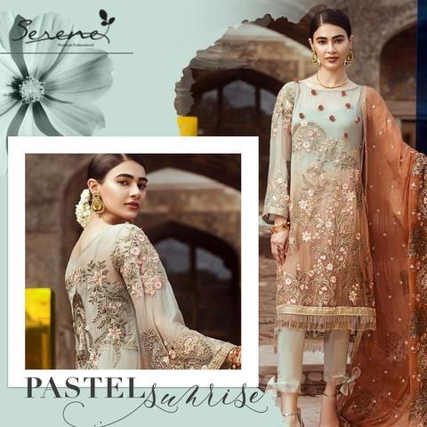 Pakistani Outfits by Serene | Threads Embroidery, Sequence
